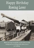 Happy Birthday Rowing Lover - 2